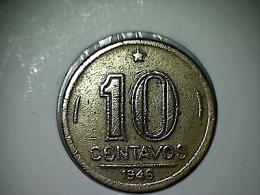 Brésil 10 Centavos 1946 - Brasil