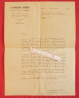 L.T.S 1949 Germaine SUSINI - Directrice Littéraire SAMEDI-SOIR - Lettre Tapuscrite à Mme Maurette - Autographes