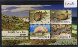 Australia 2011  W.w.f.  Mini Sheet  F/used A108 - 2010-... Elizabeth II