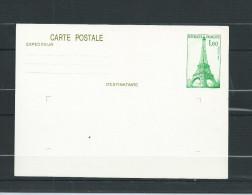 FRANCE   ENTIER  POSTAL  429 CP1  TOUR  EIFFEL  NEUF ** - Biglietto Postale