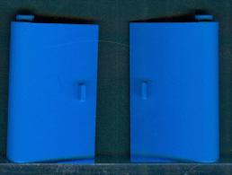 279/148 LEGO MATTONCINO BRIQUE BLU BLUEU PORTA 2 ANTE   ORIGINALE COSTRUZIONI - Lego System