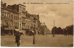 Koekelberg, Bruxelles, Place Simonis Et Boulevard Leopold I (pk21572) - Koekelberg