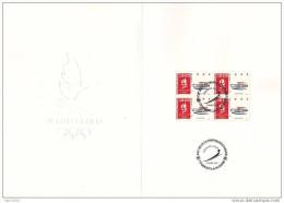 Document Premier Jour. XVIème Jeux Olympiques D´hiver 92 à Albertville (IV). Luge. N° 2679 (Yvert) France 1991 - Documents De La Poste