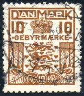 DENMARK 1930 - Revenue Used - Fiscali
