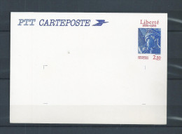 FRANCE   ENTIER  POSTAL  2421  CP1  LIBERTE    NEUF ** - Biglietto Postale
