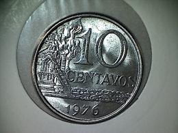 Brésil 10 Centavos 1976 TTB - Brésil