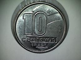 Brésil 10 Centavos 1989 - Brésil