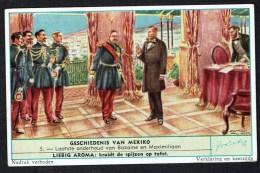 LIEBIG  - NL - 1 Chromo - S1702  - N° 5 - Geschiedenis Van Mexico - Histoire Du Mexique. - Liebig