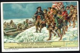LIEBIG  - NL - 1 Chromo - S1659  - N° 1 - Geschiedenis Der Verenigde Staten - Histoire Des Etats-Unis. - Liebig