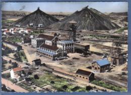 Carte Postale 59. Aniche  Et Les Mines Vue D´avion  Trés  Beau Plan - Autres Communes