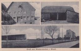 AK Gruss Aus Westernkotten In Westfalen Gasthof J. Besting S/w Nicht Gelaufen - Deutschland