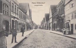 AK Hess.-Oldendorf Langestraße S/w Nicht Gelaufen - Hessisch-Oldendorf