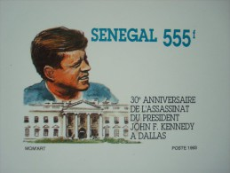 SENEGAL 30 LUXE PROOFS (30 SCANS) / 8 SETS / KENNEDY UPU BIRDS REPTILES CHRISTMAS ENVIRONMENT - Sénégal (1960-...)