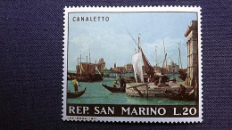 """San Marino 972 **/mnh, """"Venedig, Punta Della Dogana"""", Gemälde Von Canaletto (1697-1768), Italienischer Maler - Ungebraucht"""