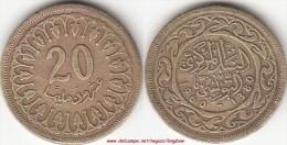 TUNISIA 20 Millimes 1960 KM#307.1 - Used - Tunisia
