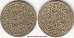 TUNISIA 20 Millimes 1983 KM#307.1 - Used - Tunisia