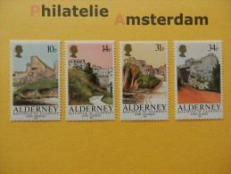 Alderney 1986, FORTS: Mi 28-31, ** - Alderney