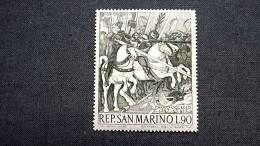 "San Marino 916 **/mnh, ""Schlacht Von San Romano"", Gemälde Von Paolo Uccello - San Marino"