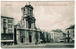 Bruxelles, St Josse Ten Noode, Eglise Et Place St Josse (pk21581) - St-Joost-ten-Node - St-Josse-ten-Noode