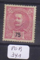 POR Afinsa  133 Xx  Papel Blanco - Unused Stamps