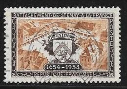 N° 987  FRANCE  - OBLITERE -  PLACE DE LA REPUBLIQUE  -  1954 - Usados