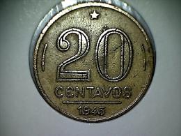 Brésil 20 Centavos 1945 - Brasil