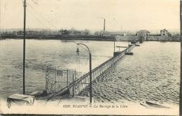 42 ROANNE Le Barrage De La Loire - Roanne