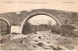48 POSTAL DE CERDANYA - PONT DE SAN MARTI SOBRE'L RIU QUEROL (CLIXE DE PERE REIG) - Gerona