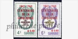 -Cambodge  139/40**Croix Rouge - Cambodge