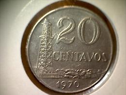 Brésil 20 Centavos 1970 - Brésil