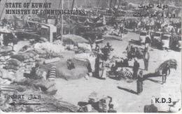 KUWAIT(GPT) - Dockside Scene, CN : 39KWTE/B, Used - Kuwait