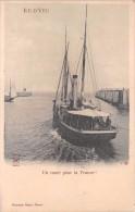 """¤¤  -    ILE-d´YEU   -  En Route Pour La France   -  Bateau  """" Ville D´Auray """"    -  ¤¤ - Ile D'Yeu"""