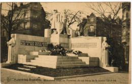 Bruxelles, Molenbeek; Monument érigé En L'honneur De Ses Héros De La Guerre 1914-18 (pk21598) - St-Jans-Molenbeek - Molenbeek-St-Jean