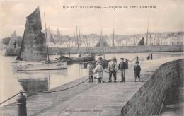 ¤¤  -    ILE-d´YEU   -  Façade De PORT-JOINVILLE   -  Bateaux De Pêche   -  ¤¤ - Ile D'Yeu