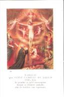 Religion Et Esotérisme-Image Religieuse-1932-Tableau De Saint Camille De Lellis-Patron Des Malades Et Des Hôpitaux - Religion & Esotérisme