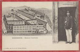 68 - ENSISHEIM - Maison Centrale - Prison - Gardien - Non Classés
