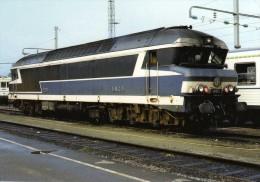RU 0860 - Loco CC 72091 Au Dépôt - NANTES BLOTTEREAU - Loire Atlantique 44 - SNCF - Nantes