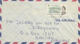 Bahamas 1977 Harbour Development Domestic Cover - Bahama's (1973-...)