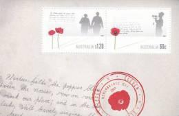 Australia-2011 Remembrance Day Souvenir Sheet MNH - Sheets, Plate Blocks &  Multiples