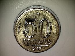 Brésil 50 Centavos 1945 - Brésil