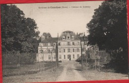 27 Environs De CONCHES Le Chateau Du Quesnay - Postée Sur Place En 1927 - TBE  -  R/V - Conches-en-Ouche