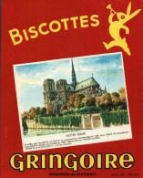 Buvard  -       Biscottes Gringoire   -    Notre-Dame - Buvards, Protège-cahiers Illustrés