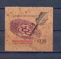 EC - 2009 - KORK -200 JAHRE UNABHÄNGIGKEIT - ** - MNH -POSTFRISCH(2) - Ecuador