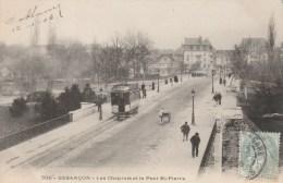 CPA BESANCON (Doubs) - Les Chaprais Et Le Pont Saint Pierre - Besancon