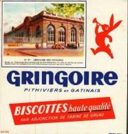Buvard  -       Biscottes Gringoire   -    Aérogare Des Invalides  N° 97