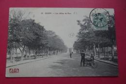 Cp Dijon Les Allees Du Parc - Dijon