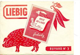 LIEBIG  - Pois Au Lard - Porc Buvard N° 3 - Alimentare