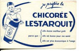Chicorée ESTARQUIT -  Enfant Et Paquet De Chicorée - Carte Assorbenti