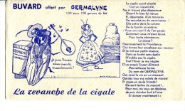 GERMALYNE - Illustr. La Revanche De La Cigale - Alimentare