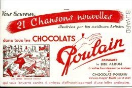 """CHOCOLAT POULAIN - Chanson Illustrée """"Bon Voyage Monsieur Dumolet"""" - Cacao"""